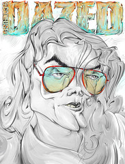 Dazed Decade Drawn Out (Kliment*) Tags: 2001 red art pencil photoshop magazine out typography design artist graphic drawing mj rip gray remix line bulgaria cover confused type michaeljackson draw drawn typo issue dazed decade typographic bulgarian калчев климент dazedconfusedmagazine клименткалчев