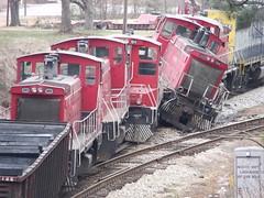 058 (stevenbr549) Tags: train ga georgia crash wreck csx lagrange derailment