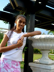 Solo Shot (ms amutha) Tags: pink floral spring photoshoot indian solo younggirls bukitjalil