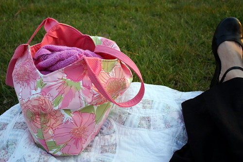 knitting in the bag