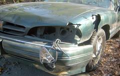 20100107 - Clint's car - still 'totaled' - GEDC1330