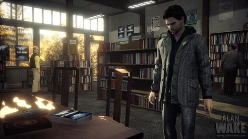 Alan Wake library