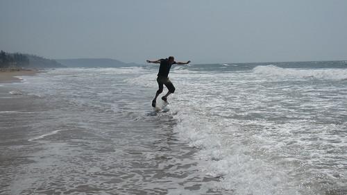 Die Welle machen