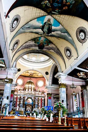 Inside Binondo Church