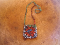 Granny necklace in Congo colorway