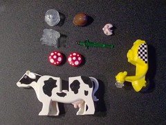 Brickforge order (Gmolka) Tags: mushroom cow order lego helmet halo scooter read armor sword extra description udder vicking brickforge mopee