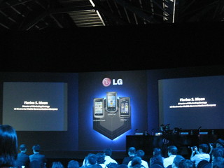 LG Smartphone Launch 16062009