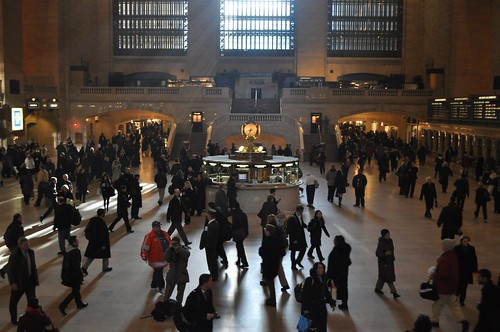 Commuters in Grand Central
