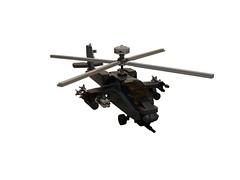 AH-64 Apache Helicopter (6) (zackhariah) Tags: apache helicopter ah64 legoah64apachehelicopter