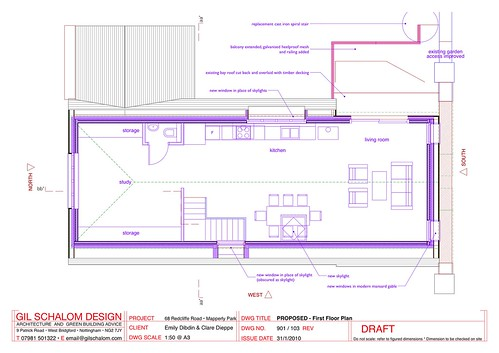 103 PROPOSED - First Floor Plan-1
