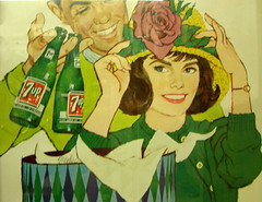 "7up - from an ""antique"" poster"