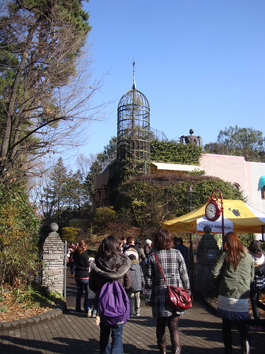 Approaching the Ghibli Museum