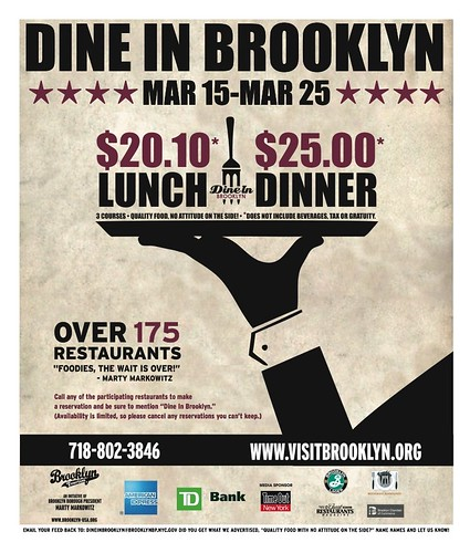 Dine In Brooklyn