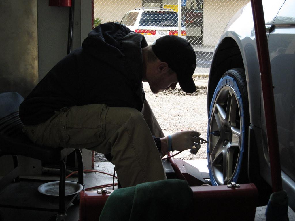 Wheel Repair Training - Wheel Color Change