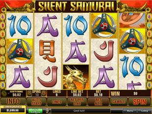 Silent Samurai slot game online review