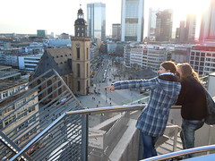 Ausblick vom Kaufhof auf Fankfurt (avronaut) Tags: city frankfurt ffm mainhattan bankfurt