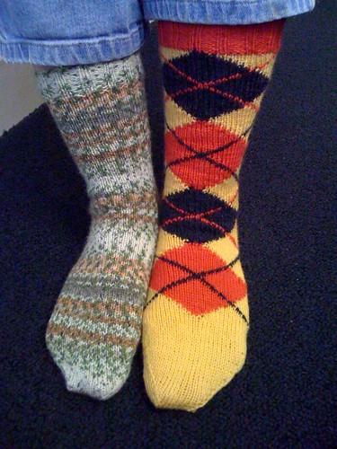 Tartan Green socks