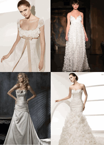 Garden Themes for Bridal Dresses Romance trends 2010