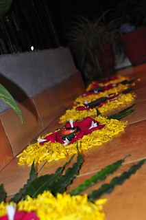 Nirmit and Nirali helped Bhabhi make these lovely decorations