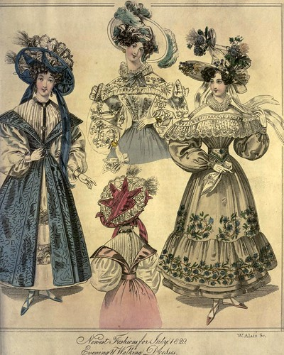 019-The World of fashion and continental feuilletons 1829