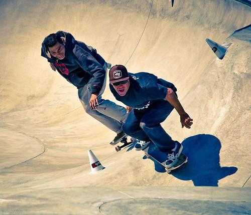 """Steve Primo/Jesse Martinez - Slalom doubles, Snake Run 3-3-10"""