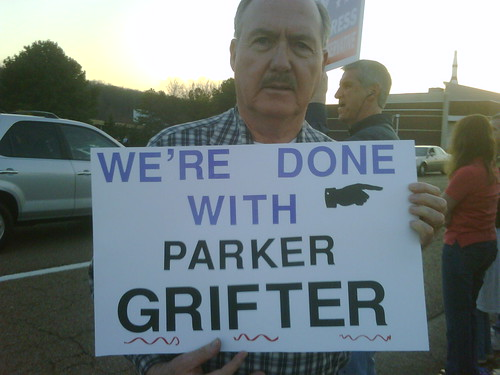Griffith/Boehner Protest Done with Parker