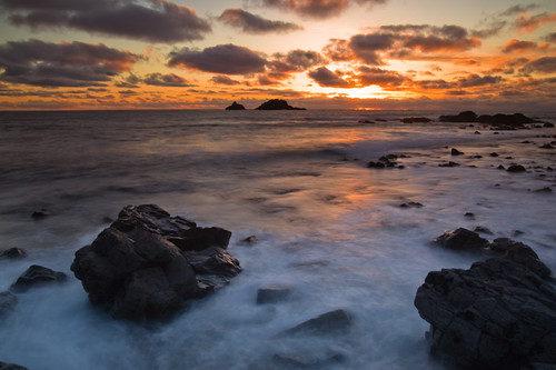 Sunset from Cape Cornwall