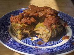 VEGAN Savoy Cabbage Rolls