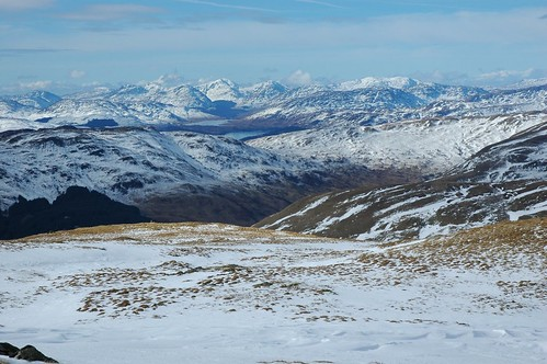 The Hills of Crianlarich from Ben Ledi