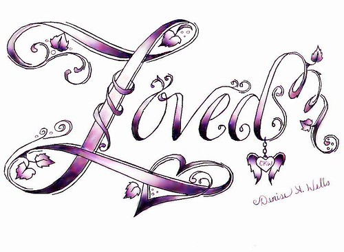 """Lονеԁ″ Tattoo Design bу Denise A. Wells Image bу ♥Denise A. Wells♥"