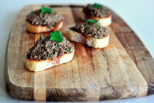 PIZZERIA MOZZA'S CHICKEN LIVER PATE