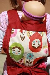 Kokka Matryoshka Dolls Mei Tai for Children/Toddlers
