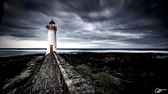 Port Fairy Lighthouse (hangingpixels-OLD ACC) Tags: longexposure cloud lighthouse seascape water rock moving break path wave australia victoria vic filters holder portfairy cokin gradnd graduatedneutraldensity zpro z121m