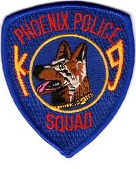 "Phoenix Police K9 (bloo_96 ""Daniel DeSart"") Tags: arizona cops leo police collection cop law enforcement patch insignia patches ensignia"