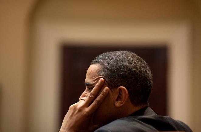 """Obama """"listens"""""""