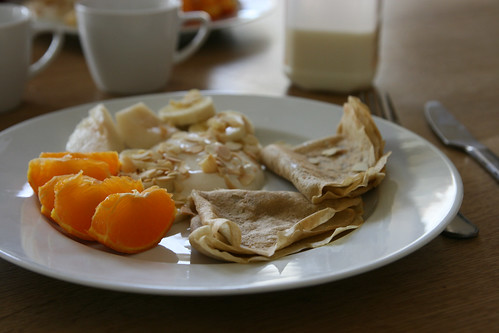 Breakfast crepes (again)