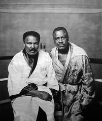 Muhammad Ali and Joe Frazier, Philadelphia, PA...