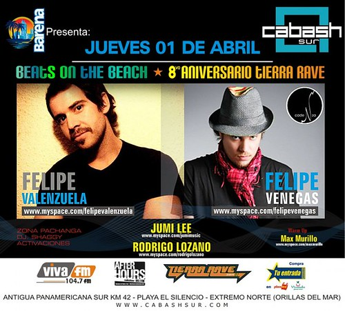 Beats On The Beach - Discoteca Cabash Sur