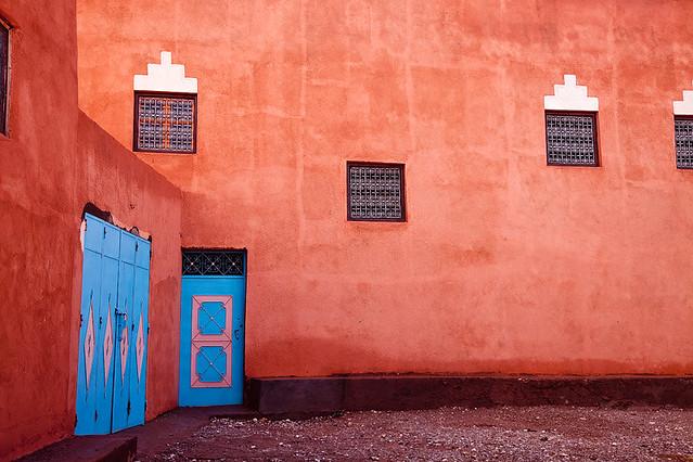 Morocco - Ait Benhaddou: Colour Contrast