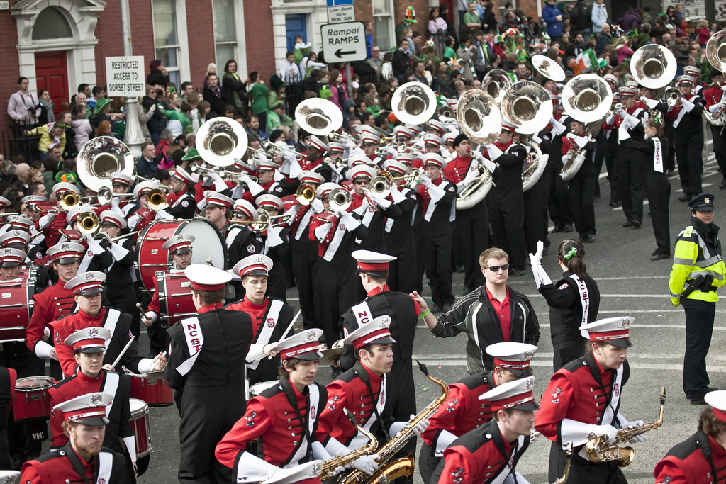 North Carolina State University Marching Band - Best Band In Parade.