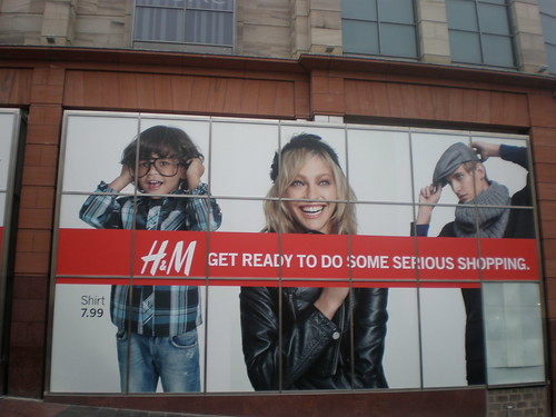 H&M - Window Vinyl