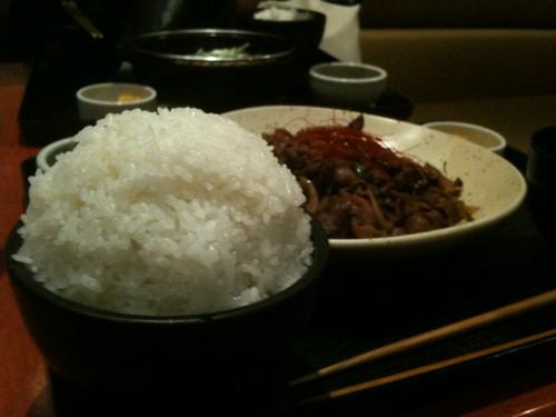 メガカルビ焼肉定食