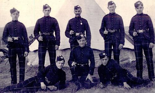 4th Lanarkshire Volunteers Scottish Rifles, 1911