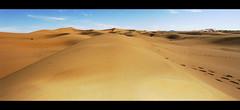 Orange Sands (rework) (~shrewd~) Tags: blue winter red sky panorama orange rot sahara yellow clouds canon geotagged gold sand desert wind himmel wolken ixus morocco gelb maroc blau 50 marokko wste ixus50 ergchebbi canonixus50   geo:tool=yuancc  geo:lat=31138632 geo:lon=4005847