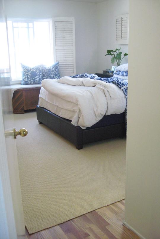 master bedroom progress -carpet 1