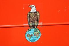 Case (twm1340) Tags: show arizona tractor vintage emblem logo sticker eagle antique farm farming bald az case equipment badge cottonwood verdevalley flywheelers