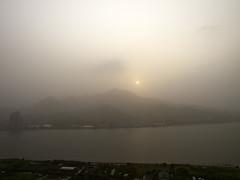 Sandstorm in Danshuei  (olvwu | ) Tags: sky sun taiwan sandstorm taipei duststorm danshuei jungpangwu oliverwu oliverjpwu guanyinshan danshueiriver olvwu danshueitownship jungpang
