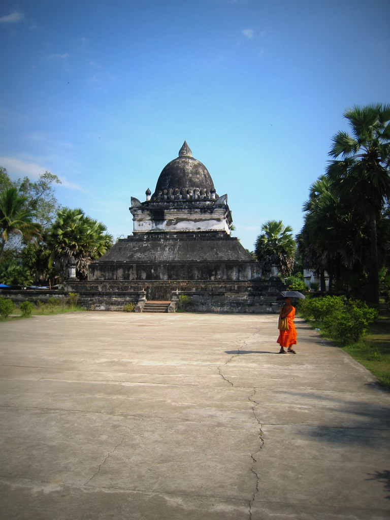 Stupa du lotus du Vat Visoun