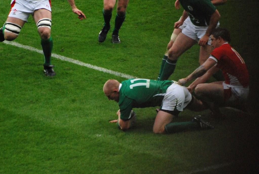 Ireland V Wales 2010