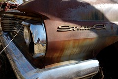 Strato Ch... (Mr Perry) Tags: rusty oxidation pontiac junkyard 1960s 1962 sigma1020mm autowreckers pentaxk10d stratochief mcleansautowreckers
